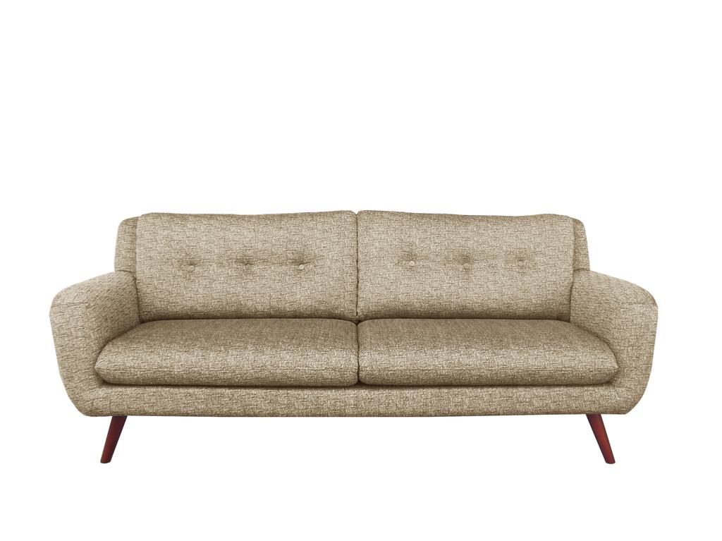 Six Sense Ieper Ethnicraft Sofa N801 - 3 seater - beige