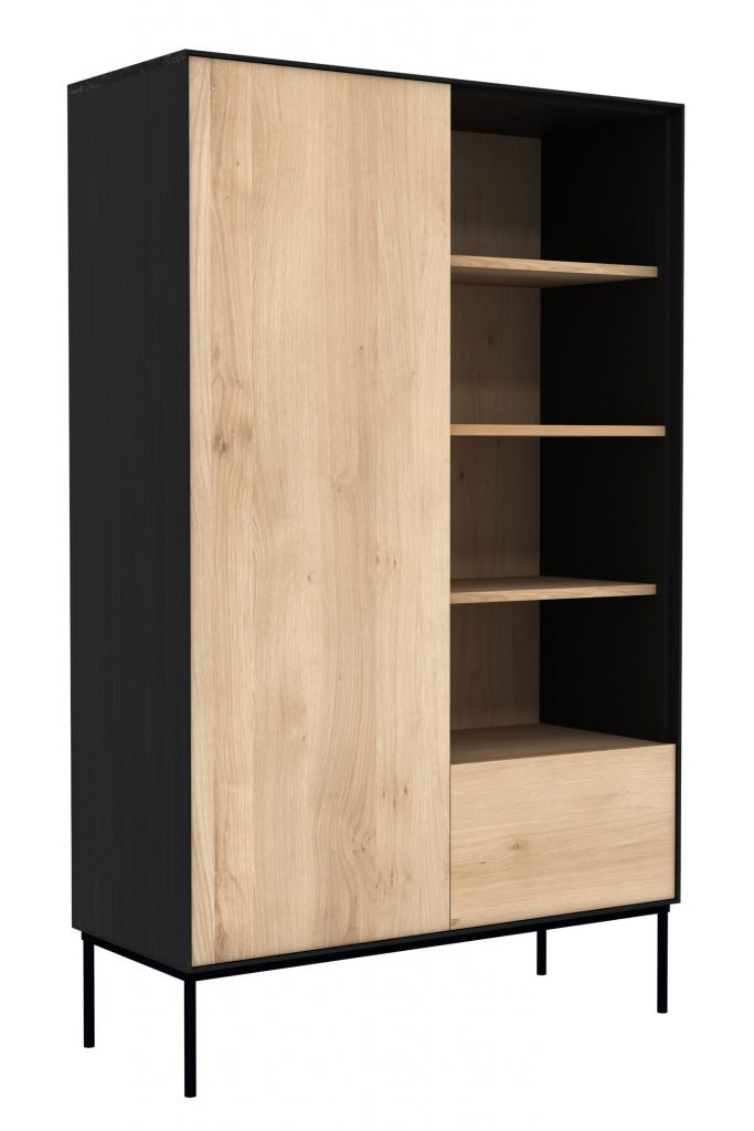 Six Sense Ieper Ethnicraft Eik Blackbird storage cupboard