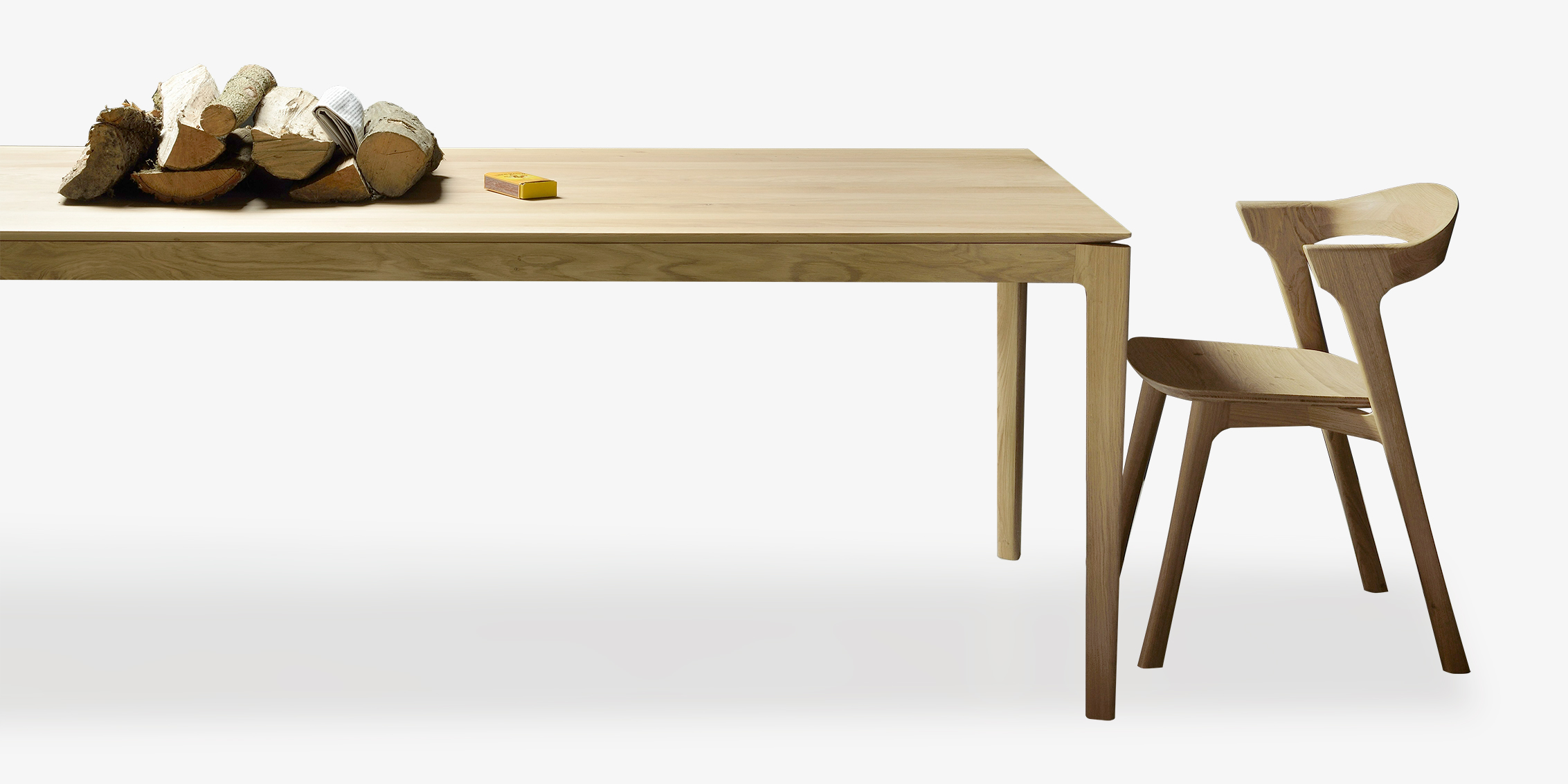 Six Sense Ieper Ethnicraft Bok Tafel Stoel Eik Six Sense : TGE 051499 Oak Bok dining table TGE 051490 Oak Bok chair 2 from sixsense.be size 2265 x 1132 jpeg 527kB