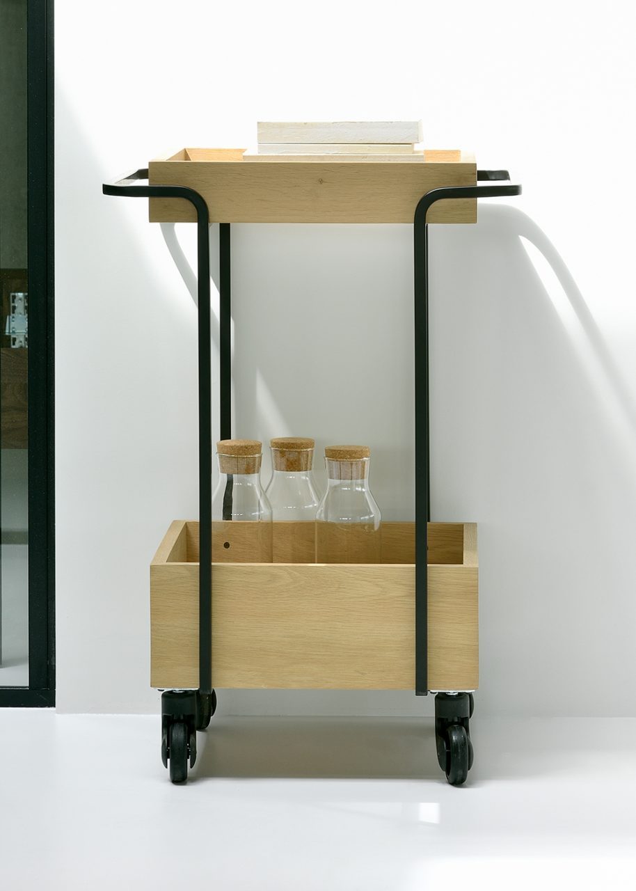 Six Sense Ieper UP Kompagnon bar cart black