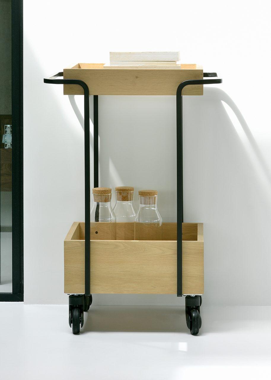 Six Sense Ieper UP Kompagnon bar cart black